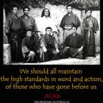 AGKK – Australian GoJu Kai Karate - Black and White Photo