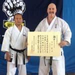 AGKK – Australian GoJu Kai Karate - Seiichi Fujiwara Sensei Bernie