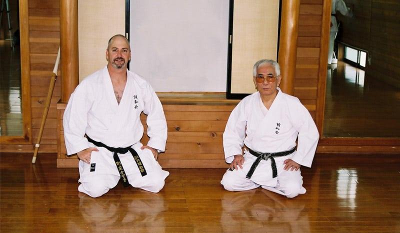 AGKK – Australian GoJu Kai Karate - Shuji Tasaki and Sensei Haughey
