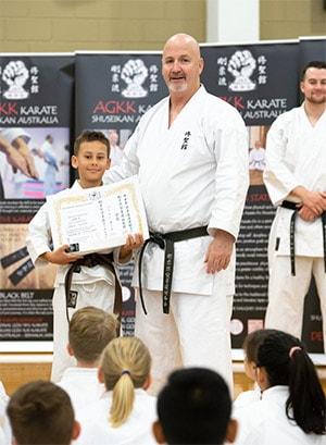 AGKK Karate Student