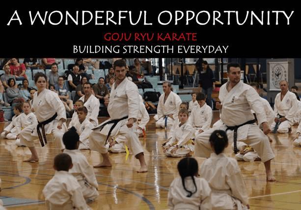 AGKK – Australian GoJu Kai Karate - A Wonderful Family Opportunity