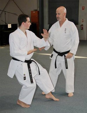 Private Karate Lesson for Black Belt Student