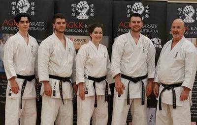 AGKK – Australian GoJu Kai Karate - Haughey Family