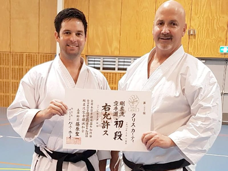 Karate Classes for Adults - AGKK – Australian GoJu Kai Karate
