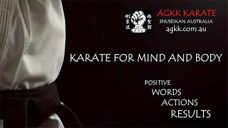 AGKK – Australian GoJu Kai Karate - Martial Arts Brisbane - Karate for Mind and Body