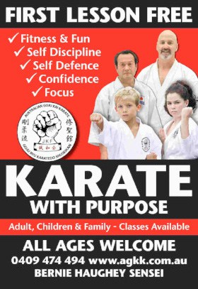 Karate with Purpose