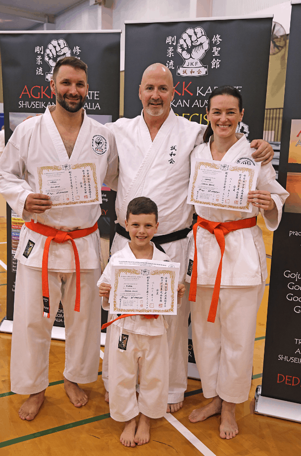 Karate Family