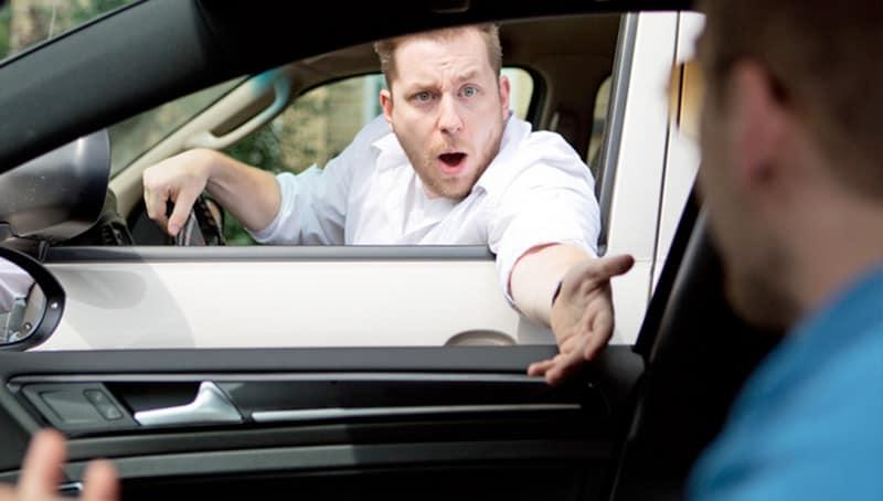 Road Rage Self Defence
