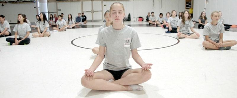 AGKK – Australian GoJu Kai Karate - School Student Meditation