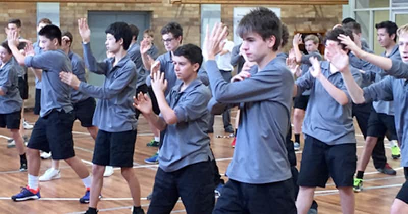 School Student Self Defence