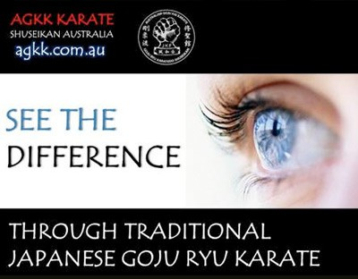 AGKK – Australian GoJu Kai Karate - See the Difference
