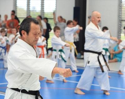 Seiichi Fujiwara and Sensei Bernie