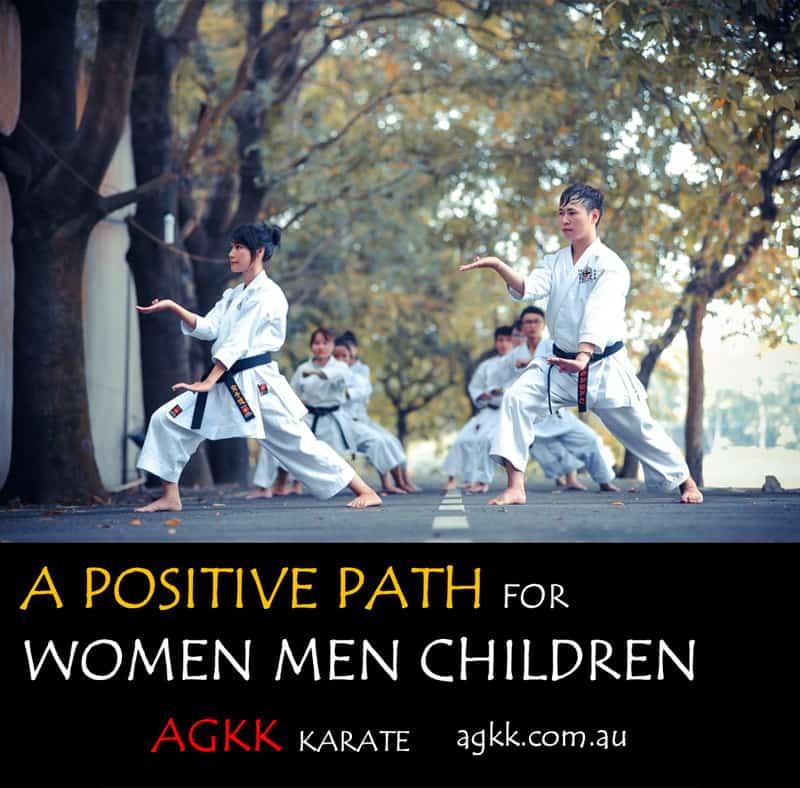 A Positive Path for Women Men Children