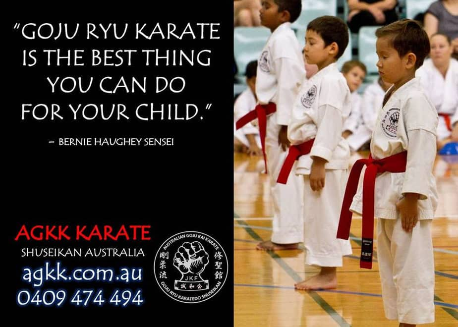 Goju Ryu Karate is the best thing you can do for your child
