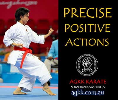 Precise, positive actions