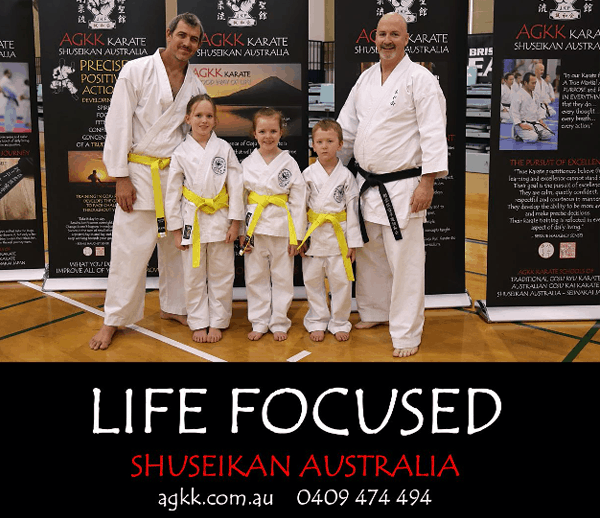 Learn Martial Arts at AGKK Karate - Life Focused