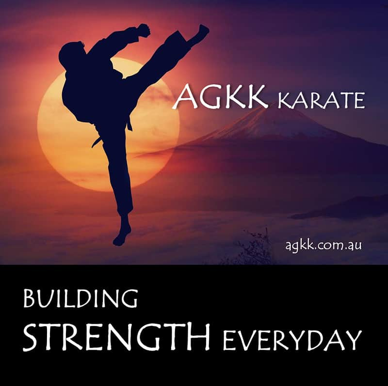 AGKK Karate - Building strength everyday