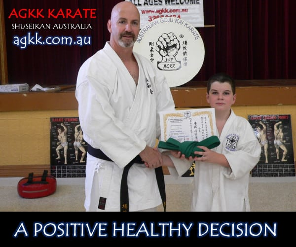 AGKK Karate - A Positive Healthy Decision