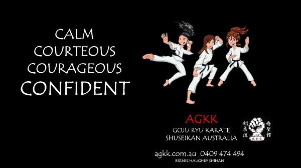 Calm - Courteous - Courageous - Confident