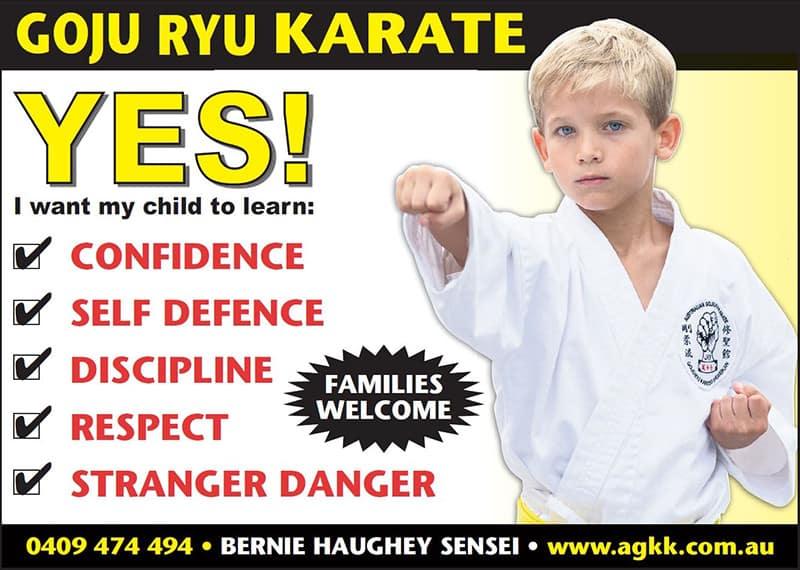Goju Ryu Karate - Learn Self Defence