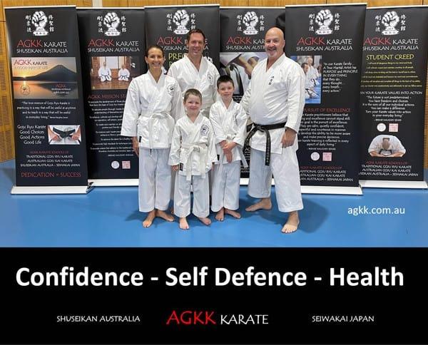 Confidence - Self Defence - Health