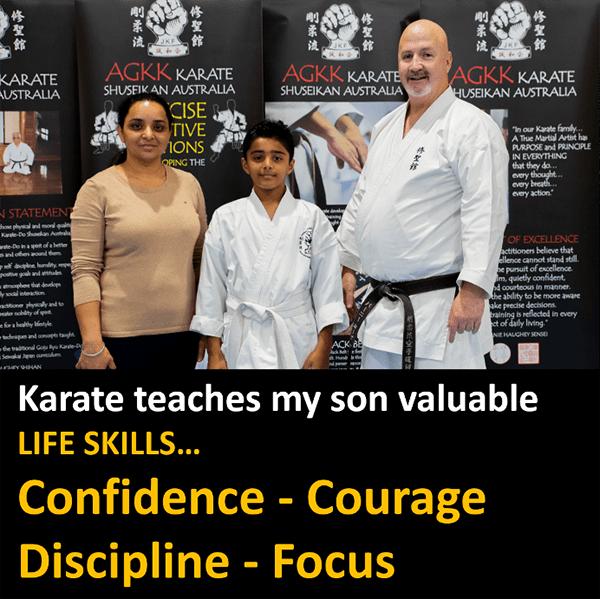 Teaching Kids Valuable Life Skills with Karate