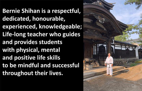 Bernie Shihan - Dedicated life long teacher