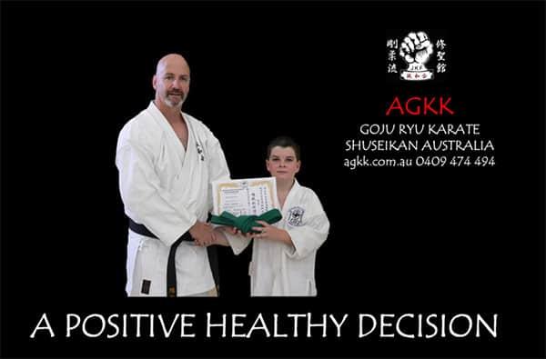AGKK Children's MARTIAL ARTS PROGRAMS - A Positive Healthy Decision