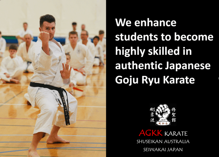 We enhance students to become highly skilled in authentic Japanese Goju Ryu Karate