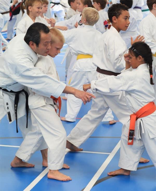 Seiicchi Fujiwara with Students