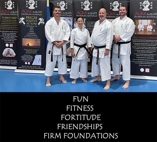 AGKK Karate - Fun - Fitness - Fortitude